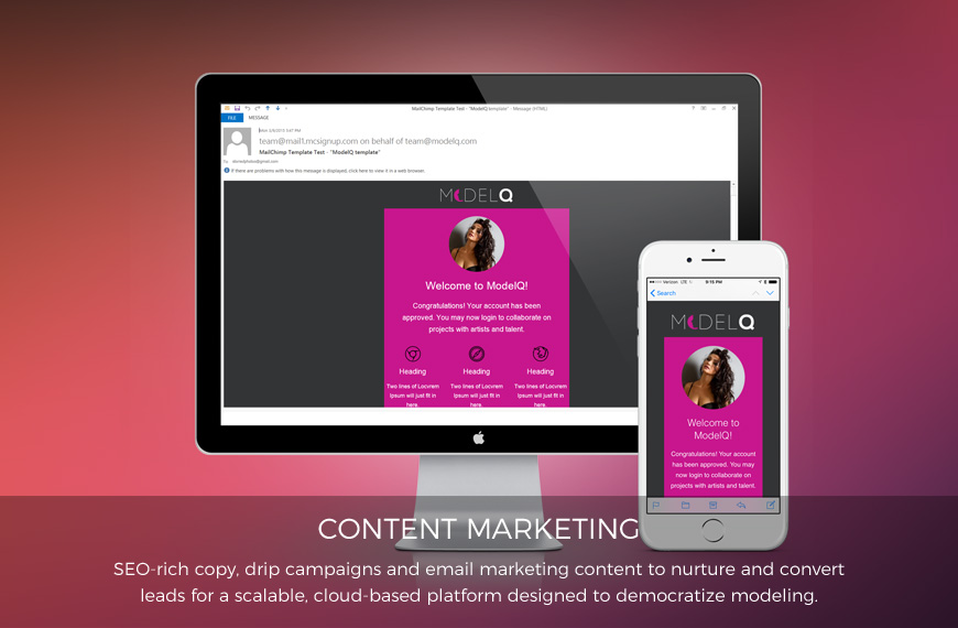 ModelQ email marketing